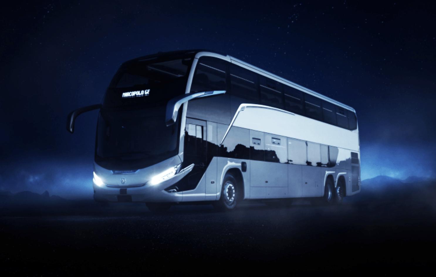 Nova geração de ônibus desenvolvida pela Marcopolo traz mais segurança ao viajar