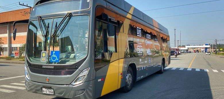 No interior de Santa Catarina, na cidade de Jaragua do Sul, foi apresentado o protótipo de um ônibus elétrico desenvolvido em parceria entre a WEG, empresa de motores elétricos com sede na cidade, e a UFSC (Universidade Federal de Santa Catarina).